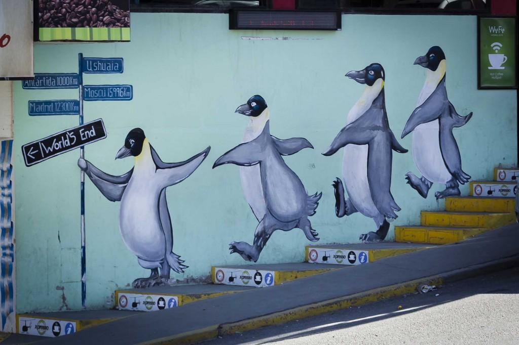 Grafitti em Ushuaia 1