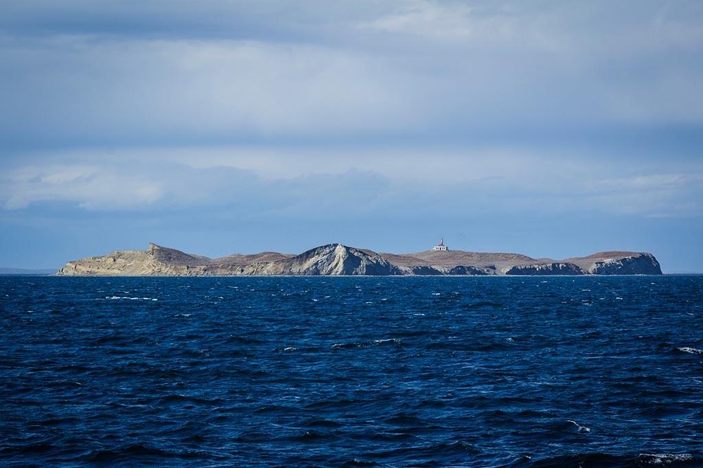 Passeio na Isla Magdalena - Vista do barco