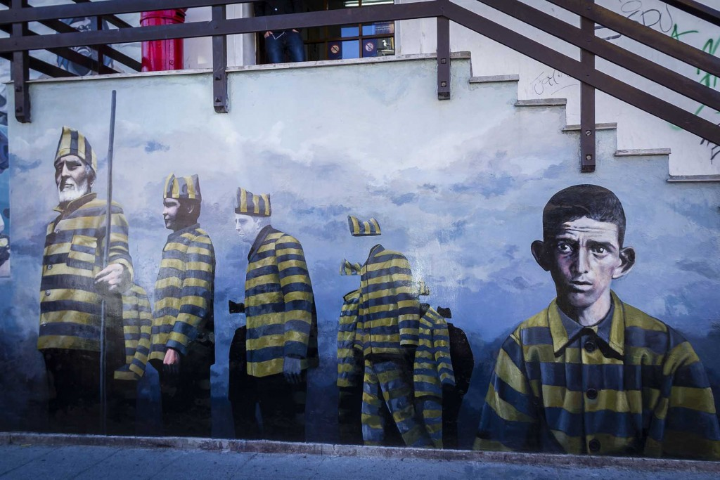 Ushuaia - Grafitti no correio municipal 1