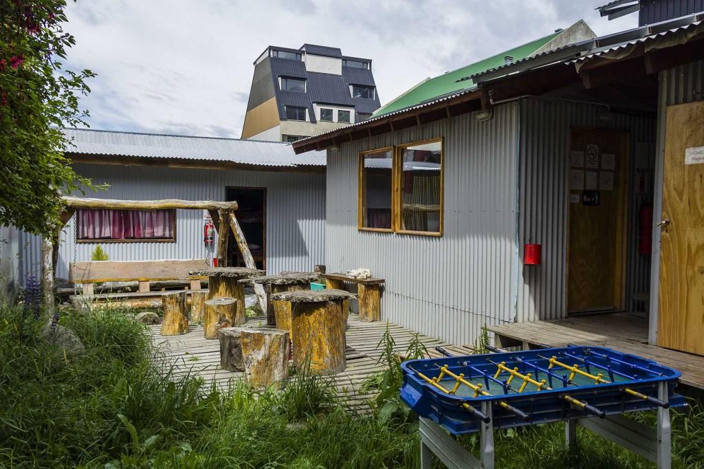 Ushuaia - Hostel Cruz del Sur - Área externa