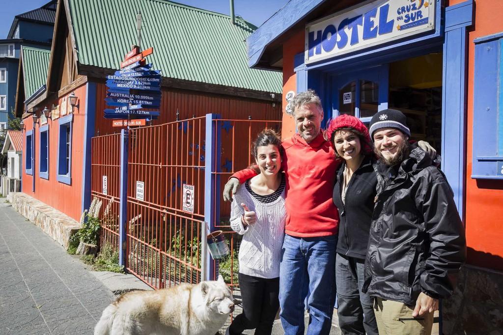 Ushuaia - Hostel Cruz del Sur - Despedida
