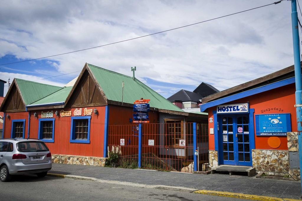 Ushuaia - Hostel Cruz del Sur - Fachada