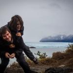 El Calafate - Glaciar Perito Moreno - Primeira vista com Diego e Bruna