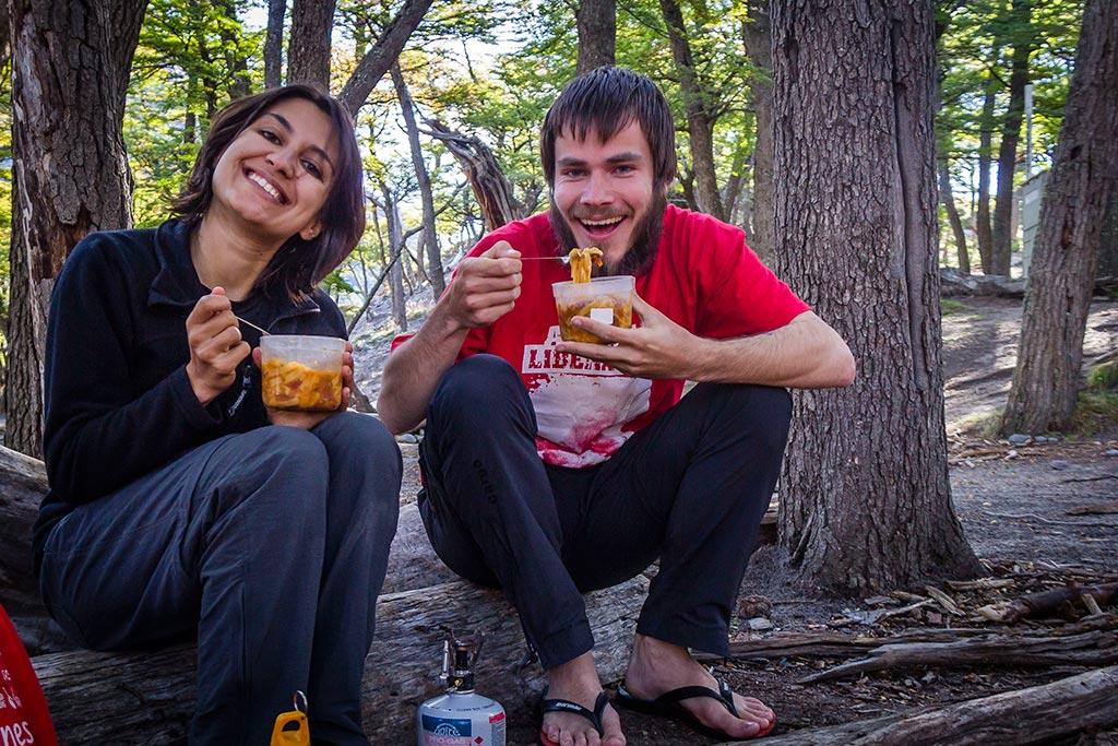 El Chaltén - Acampamento de Agostini