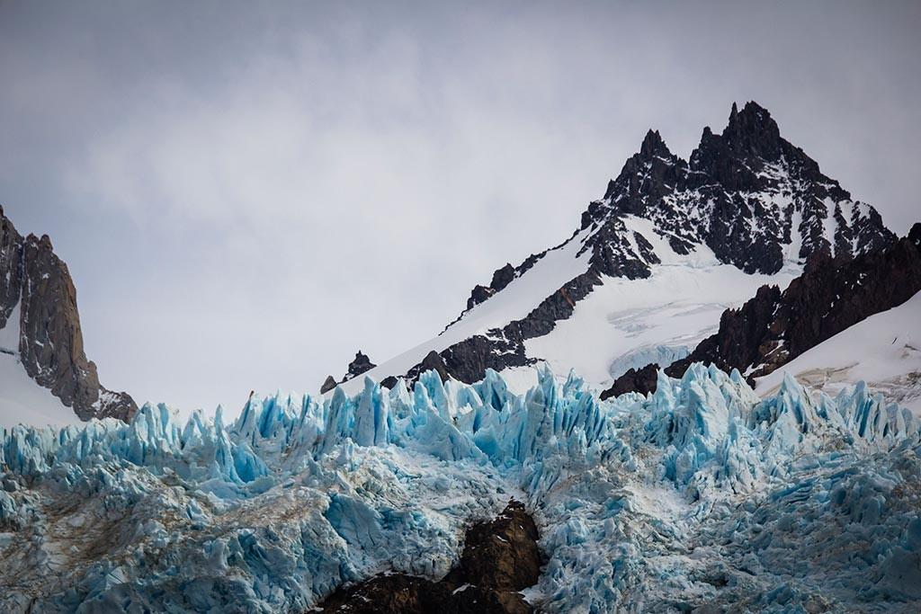 El Chaltén - Glaciar Piedras Blancas