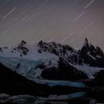 El Chaltén - Laguna Torre - Noturna com o céu estrelado