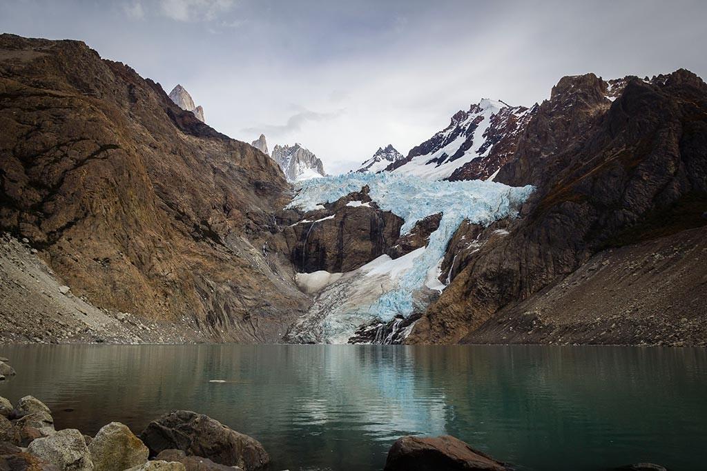 El Chaltén - Laguna e Glaciar Piedras Blancas
