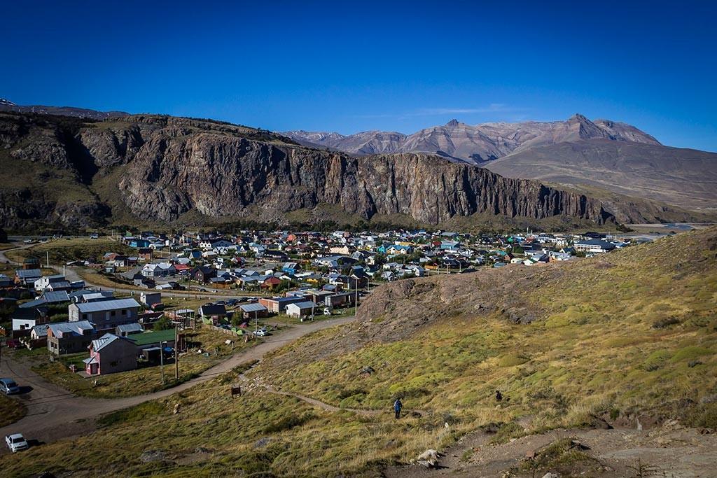 El Chaltén - Vista de cima