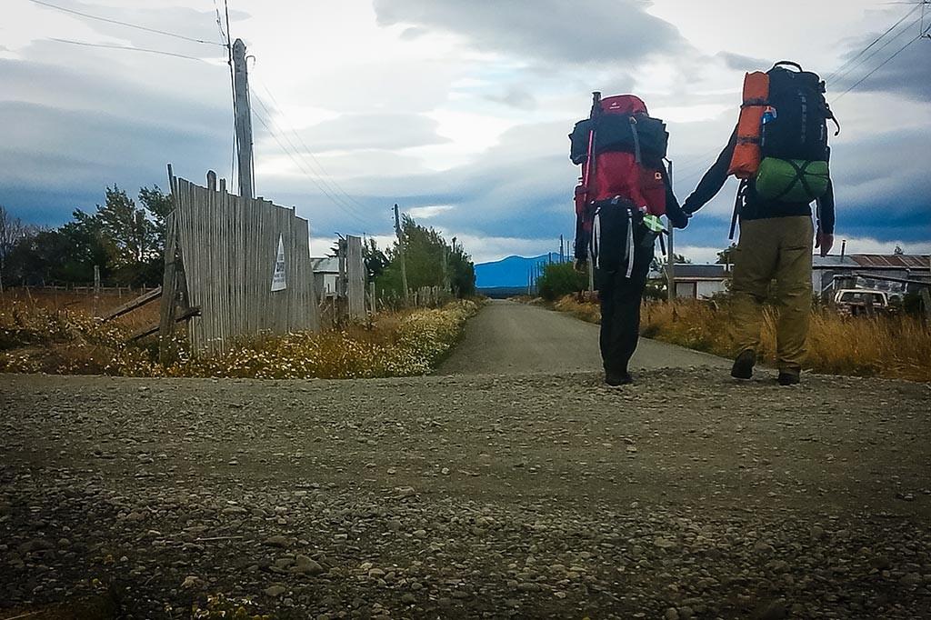 Torres del Paine - Carregados e a caminho