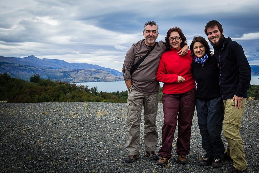 Torres del Paine - Mirador Lago Toro - Nós e os espanhóis