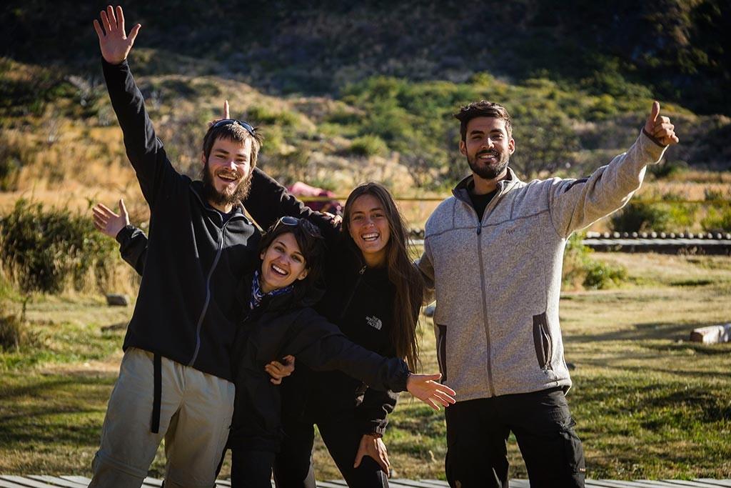 Torres del Paine - Paine Grande - Nós e a felicidade do último dia