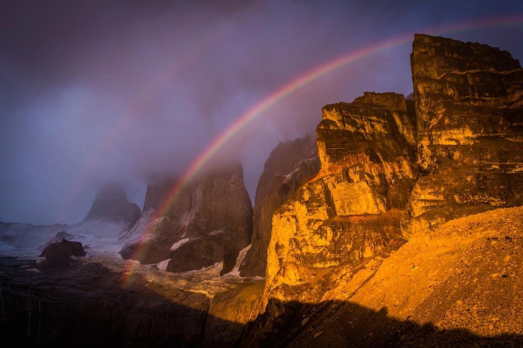 Torres del Paine - Torres ao Amanhecer