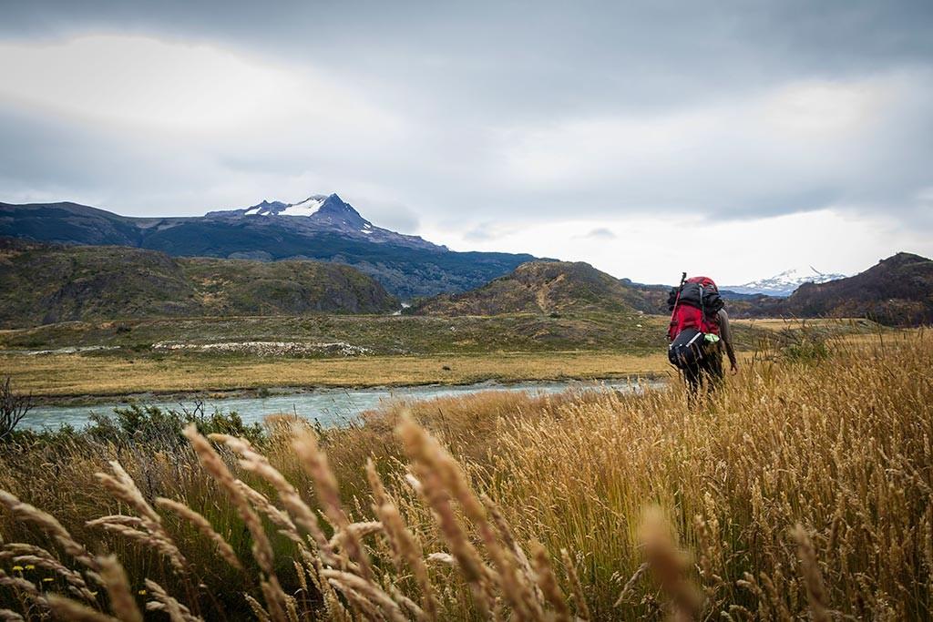 Torres del Paine - Trilha Carretas para Paine Grande