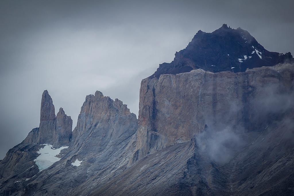 Torres del Paine - Trilha Carretas para Paine Grande - Cuernos del Paine
