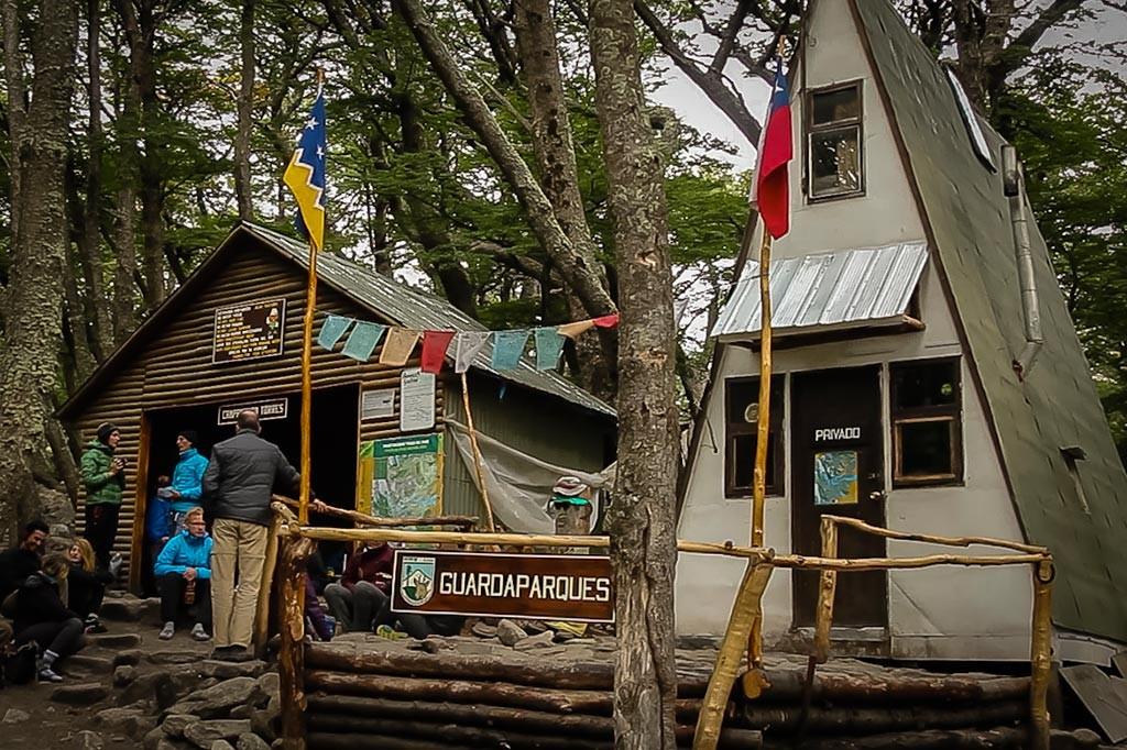 Torres del Paine - Trilha Chileno para Torres - Acampamento