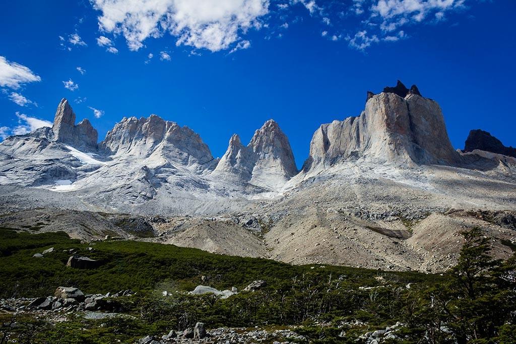 Torres del Paine - Trilha Italiano para Britanico - Cuernos del Paine