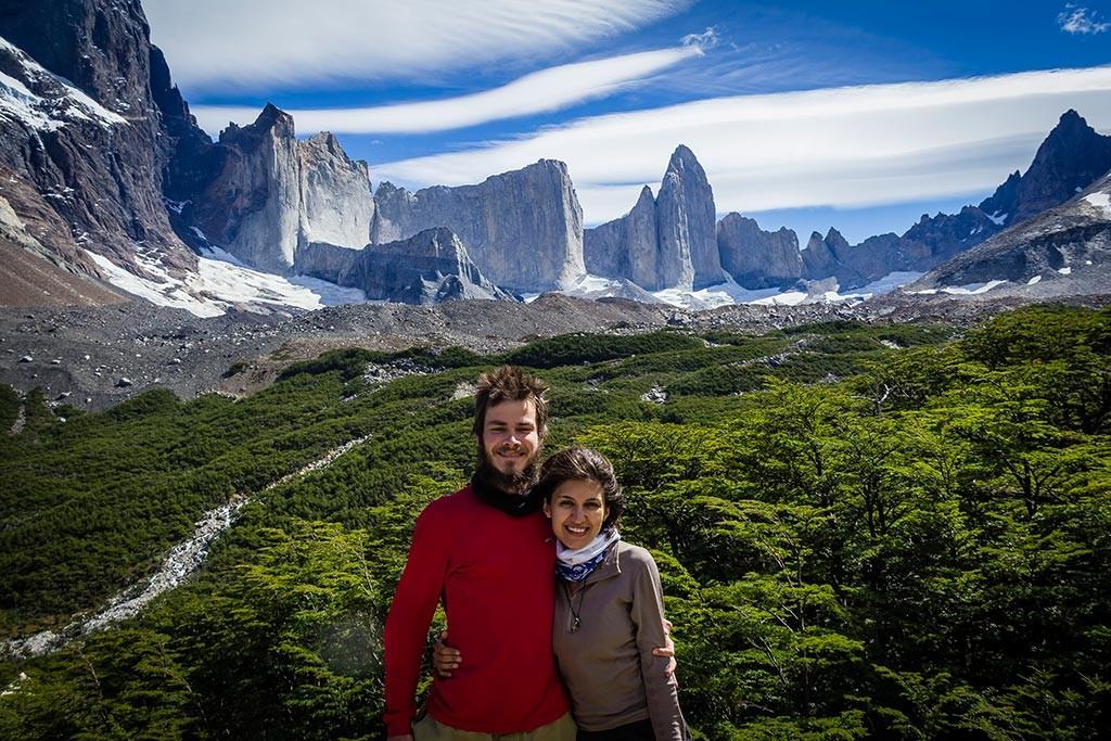 Torres del Paine - Trilha Italiano para Britanico - Nós e as montanhas
