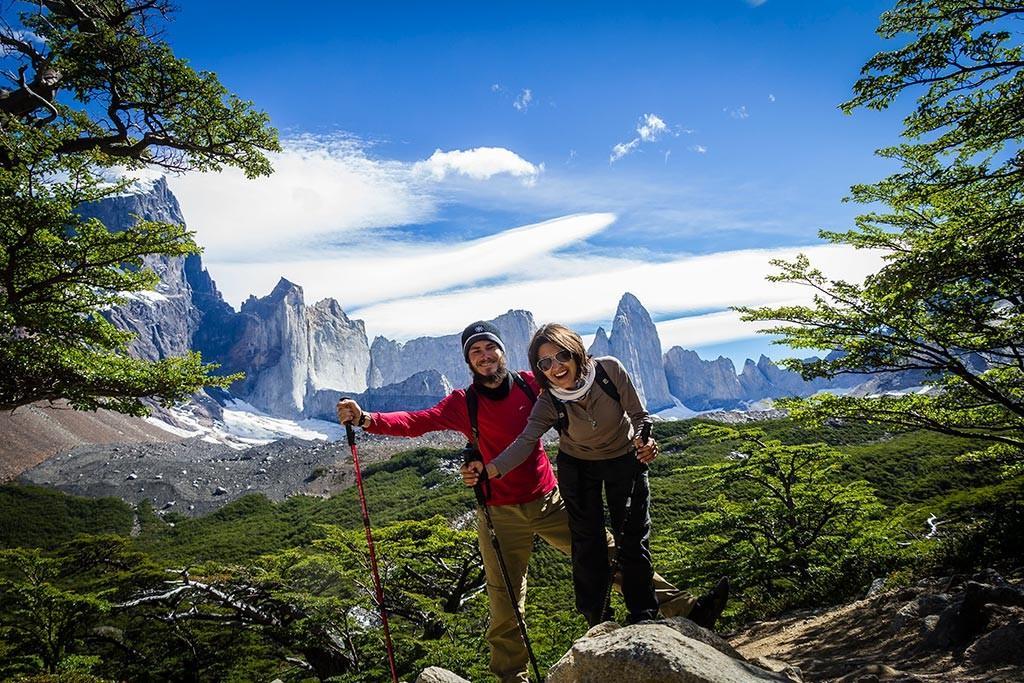 Torres del Paine - Trilha Italiano para Britanico - Nós e as montanhas 2