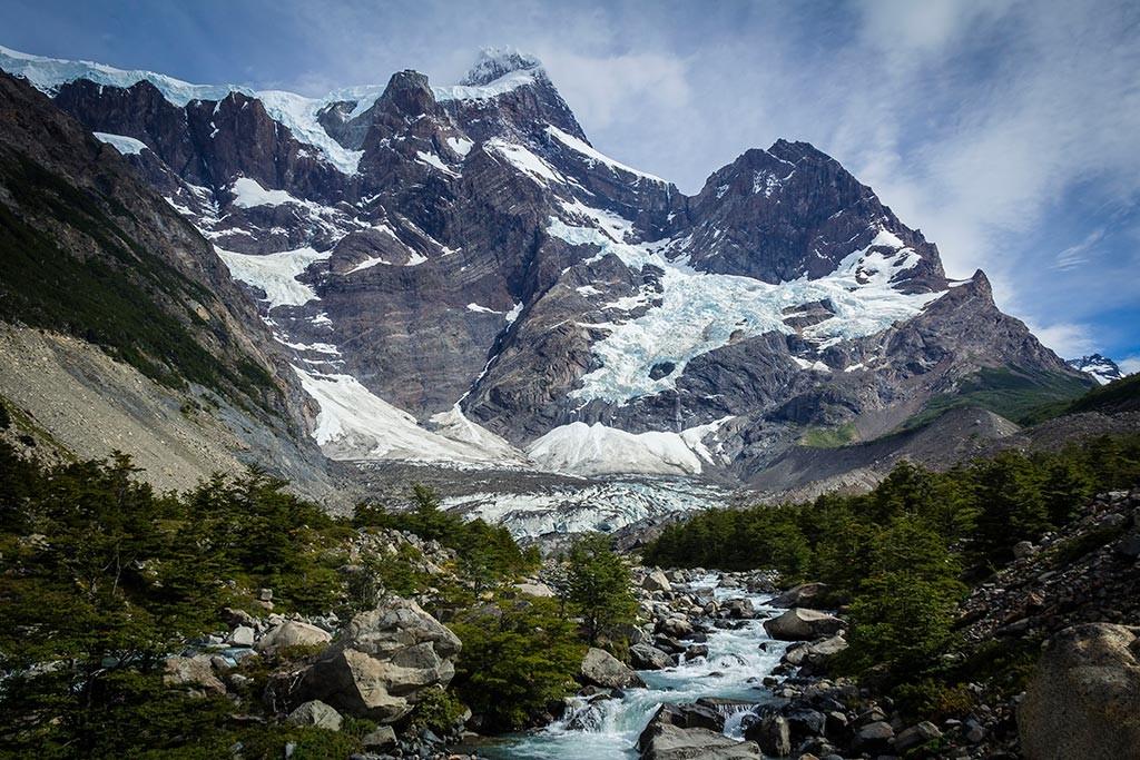Torres del Paine - Trilha Italiano para Britanico - Paine Grande