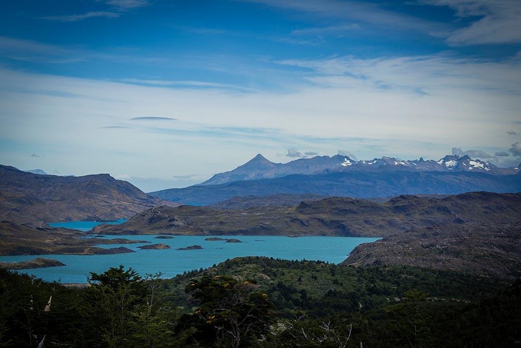 Torres del Paine - Trilha Italiano para Britanico - Vista para os lagos 3