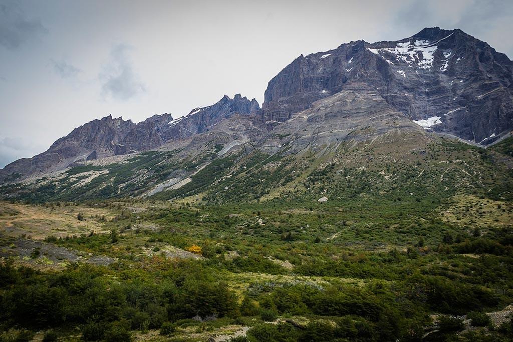 Torres del Paine - Trilha Los Cuernos para Chileno - Monte Almirante Nieto
