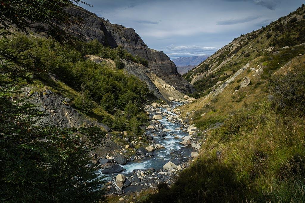 Torres del Paine - Trilha Los Cuernos para Chileno - Vale Ascencio 2