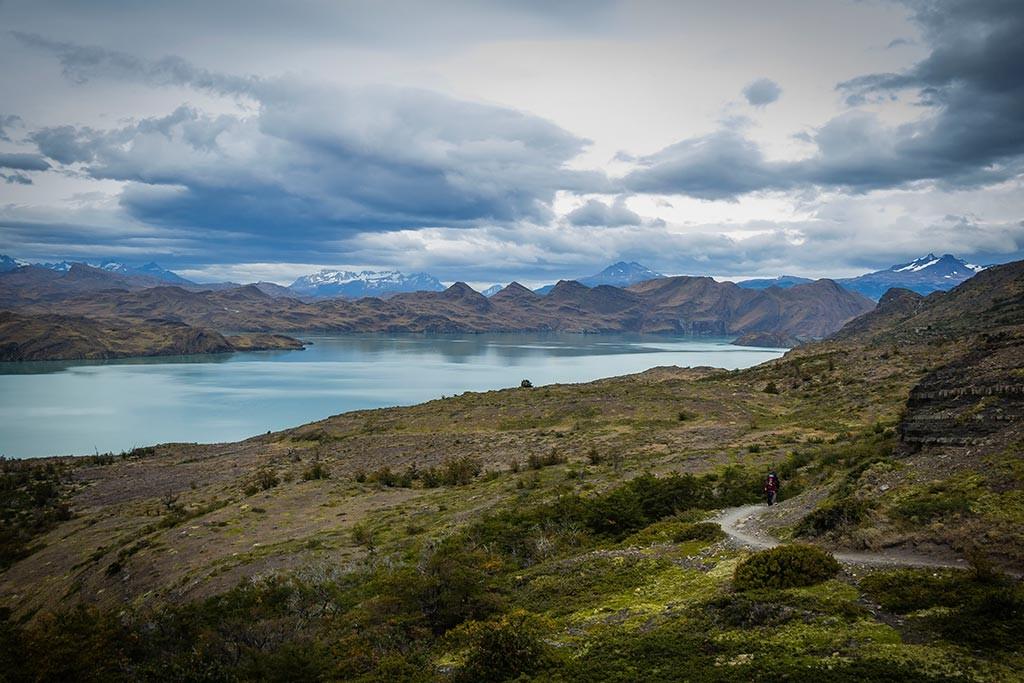 Torres del Paine - Trilha Los Cuernos para Chileno - Vista para o lago 6