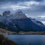 Torres del Paine - Trilha Paine Grande para Italiano - Lago Skottsberg com Cuernos ao fundo