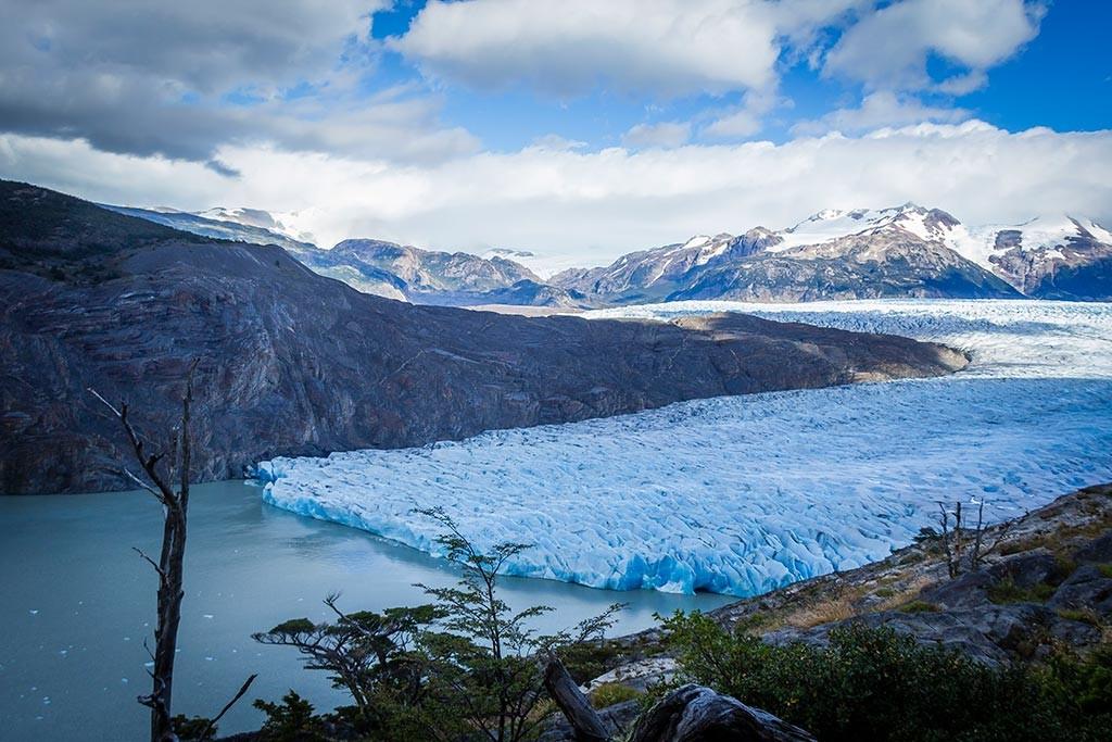 Torres del Paine - Trilha Paso para Grey - Final do Glaciar Grey