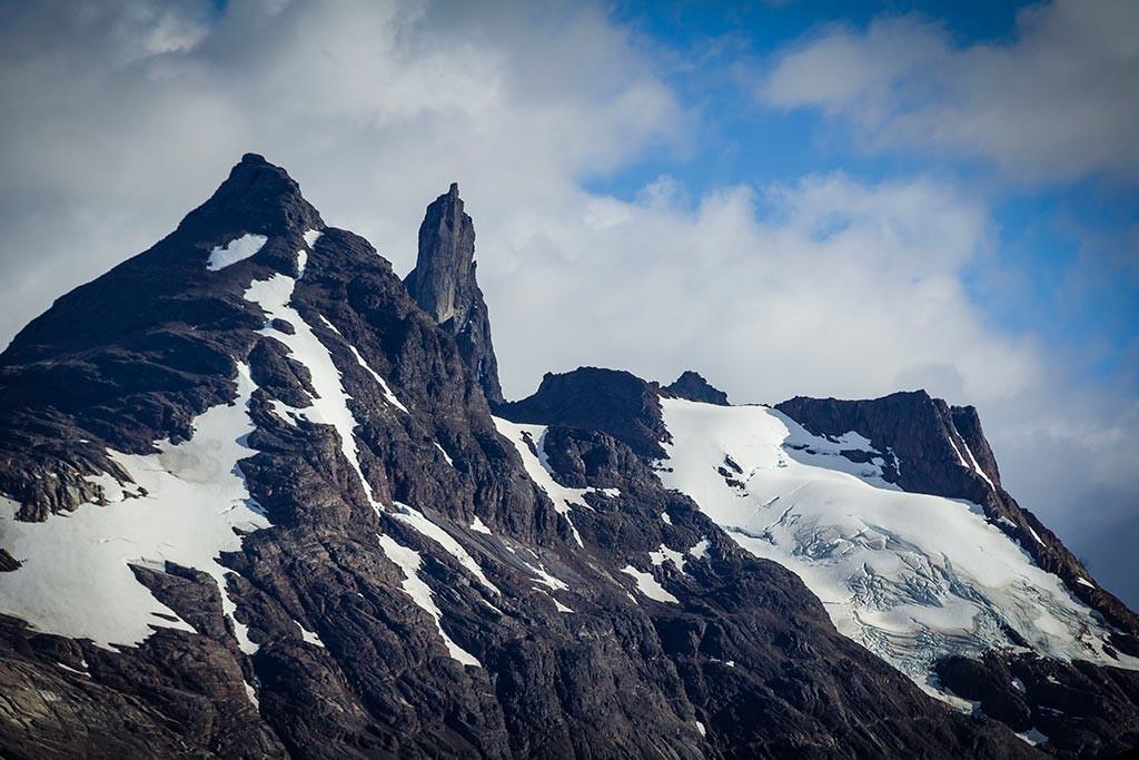 Torres del Paine - Trilha Paso para Grey - Vista para os montes