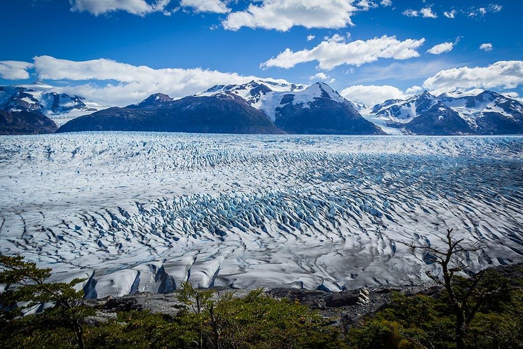 Torres del Paine - Trilha Perros para Paso - Glaciar Grey