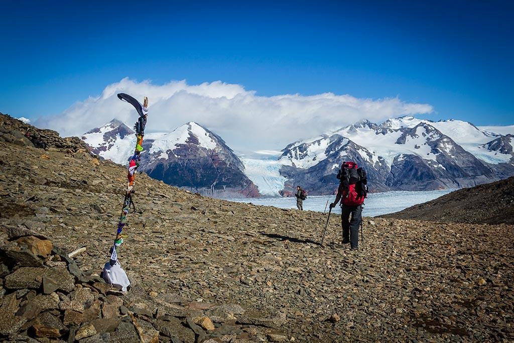 Torres del Paine - Trilha Perros para Paso - Topo do Paso John Gardner
