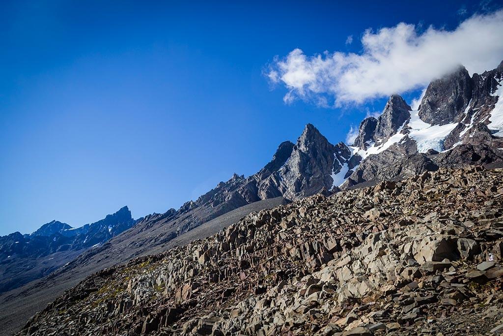 Torres del Paine - Trilha Perros para Paso - Vista para o final do vale