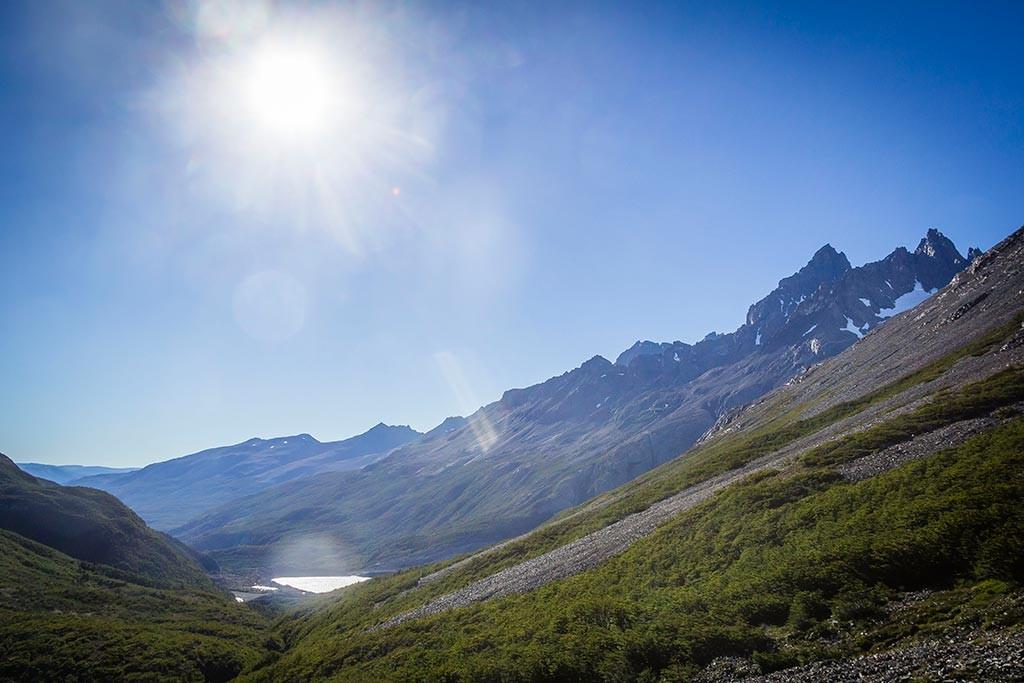 Torres del Paine - Trilha Perros para Paso - Vista para o vale
