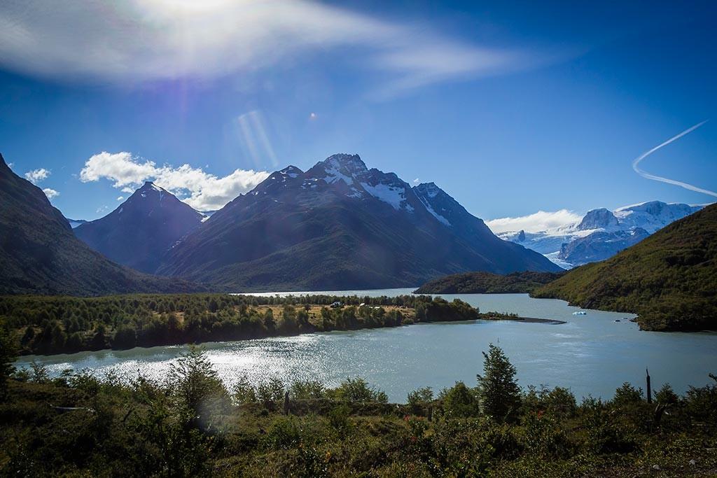 Torres del Paine - Trilha Serón para Dickson - Chegada ao acampamento Dickson