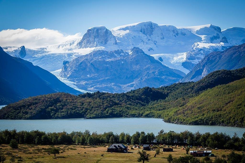Torres del Paine - Trilha Serón para Dickson - Chegada ao acampamento Dickson 2