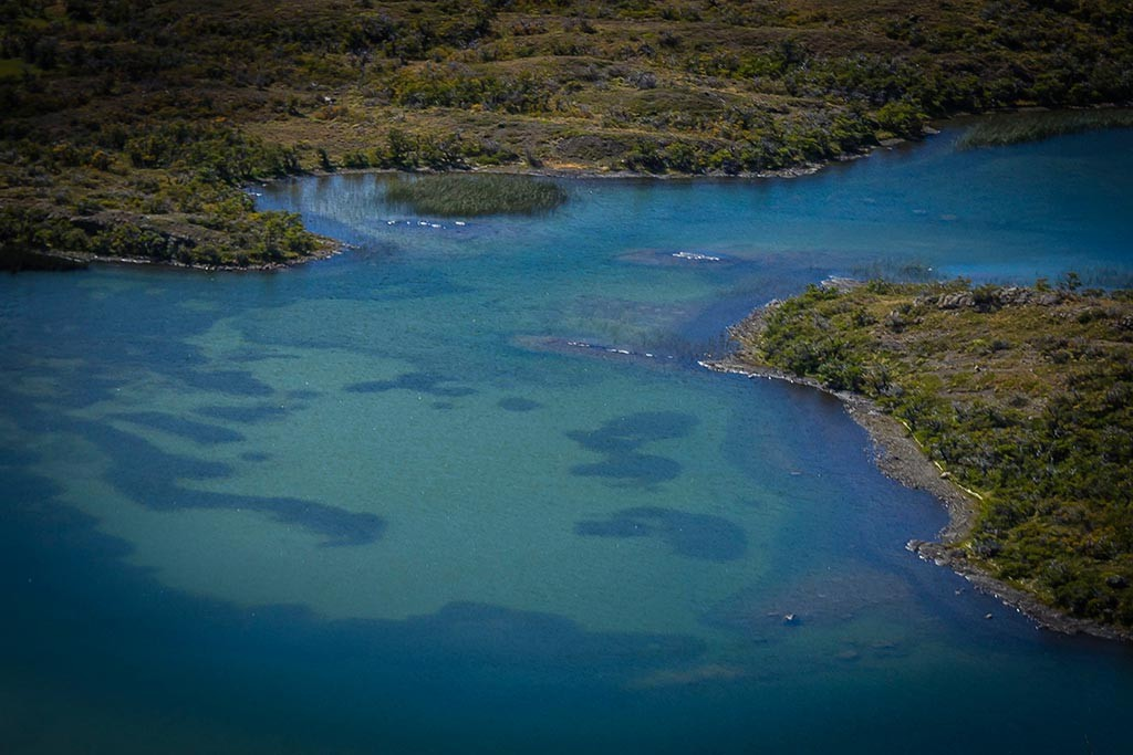Torres del Paine - Trilha Serón para Dickson - Rio Paine e sua água cristalina