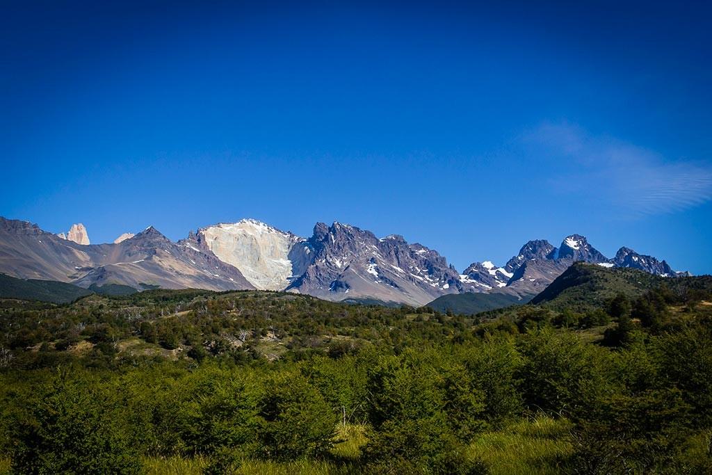 Torres del Paine - Trilha Serón para Dickson - Vista para os montes 7