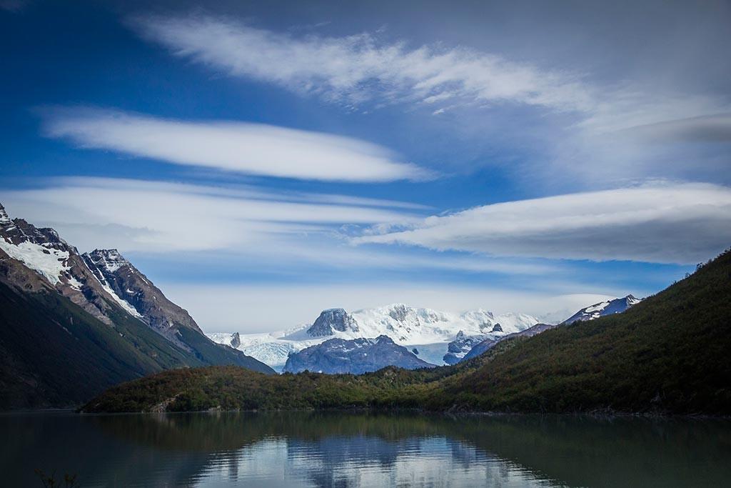 Torres del Paine - Vista para o Lago Dickson com glaciar ao fundo 2