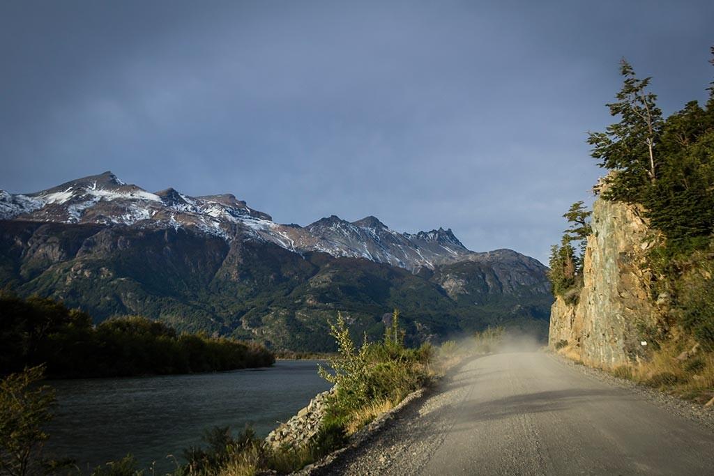 Carretera Austral - Caminho até Puerto Rio Tranquilo