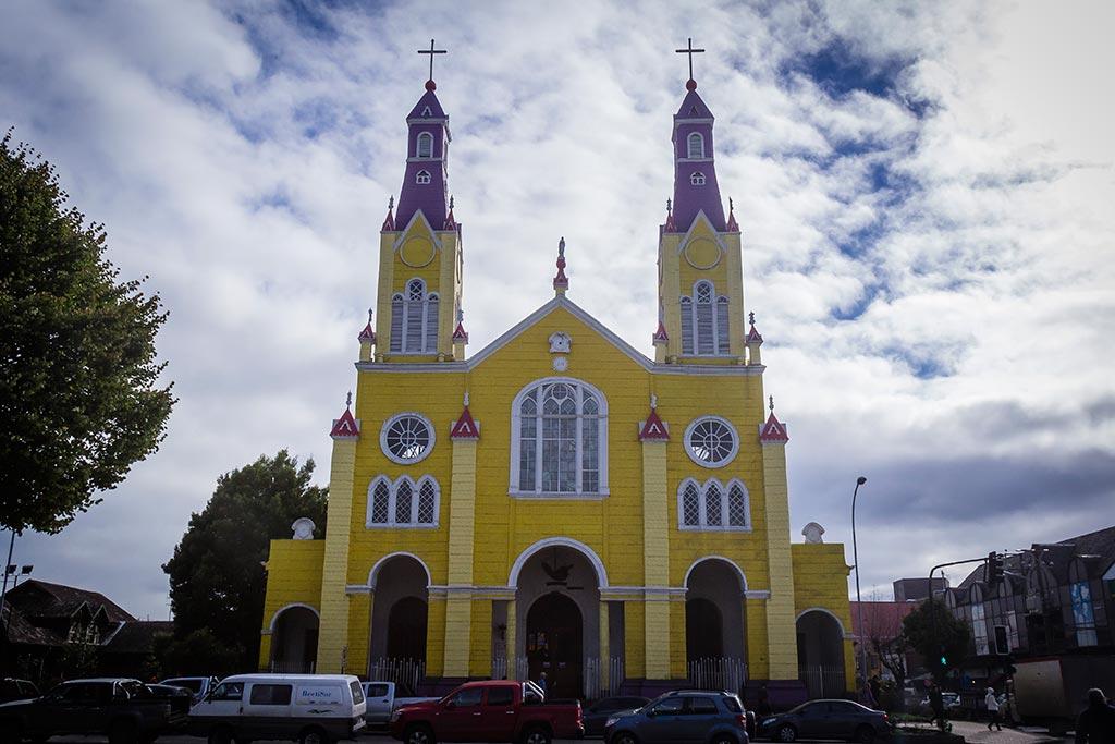 Isla de Chiloé - Castro - Igreja