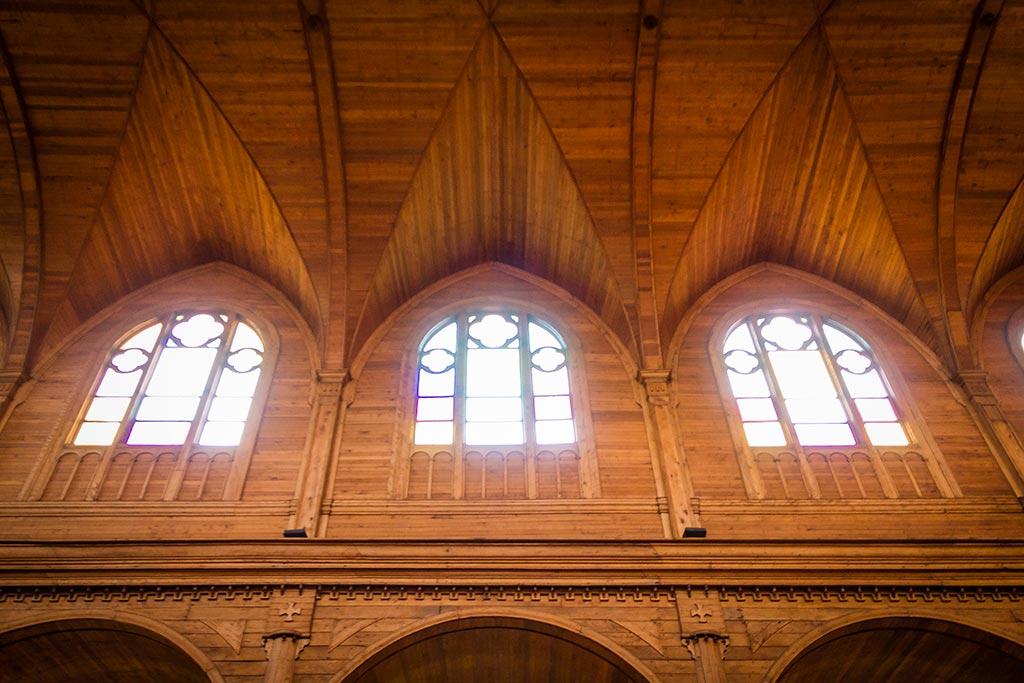 Isla de Chiloé - Castro - Interno Igreja 2
