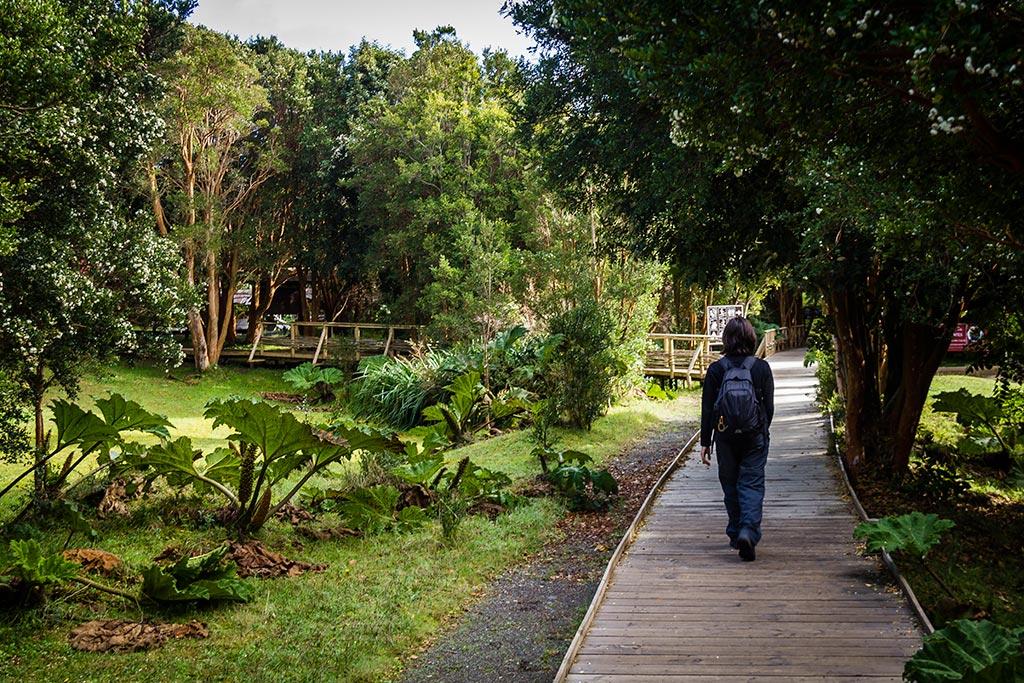 Isla de Chiloé - Parque Nacional Chiloé - Cucao - Entrada