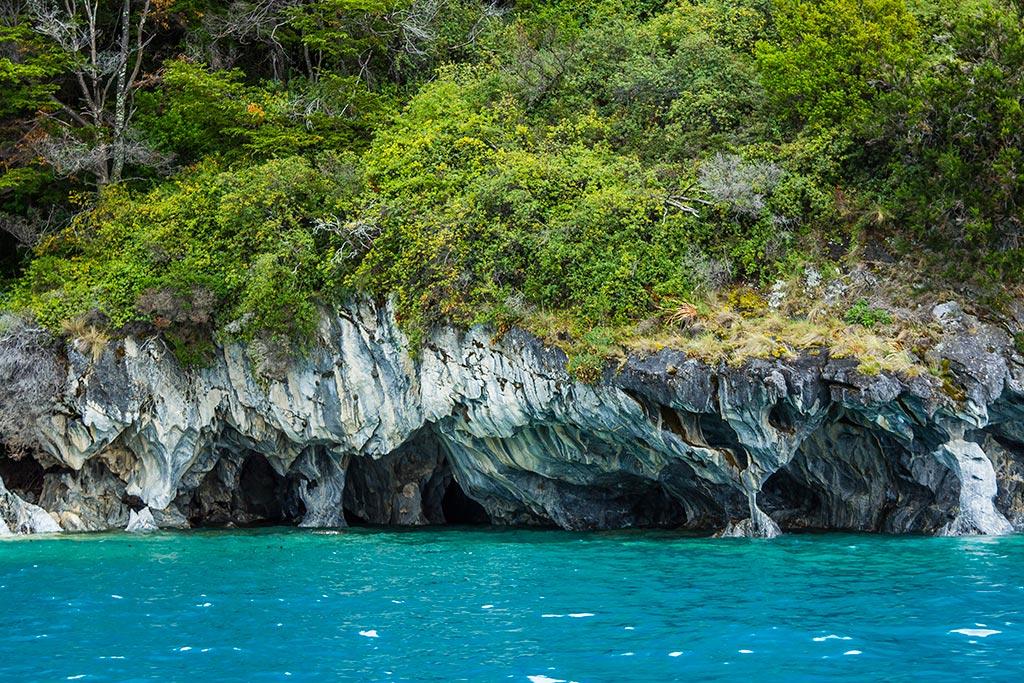 Puerto Rio Tranquilo - Navegação Cavernas de Mármore 04