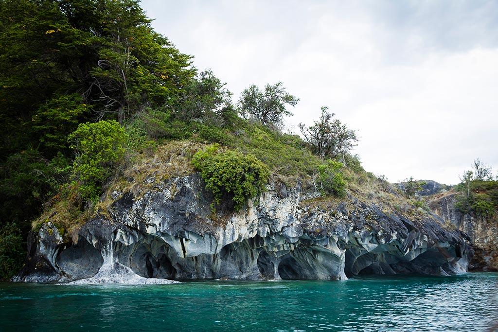 Puerto Rio Tranquilo - Navegação Cavernas de Mármore 06