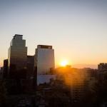 Santiago - Cerro Santa Lucia - Pôr do sol