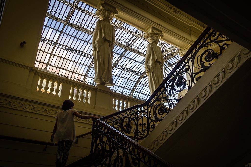 Santiago - Escadarias do Museu de Belas Artes 2