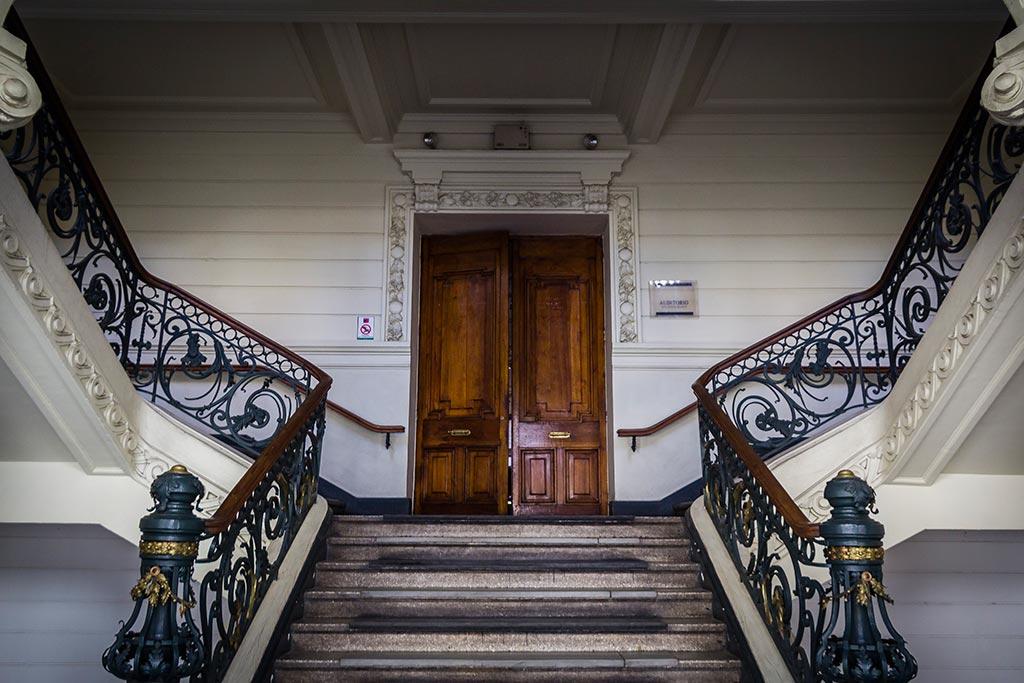 Santiago - Escadarias do Museu de Belas Artes