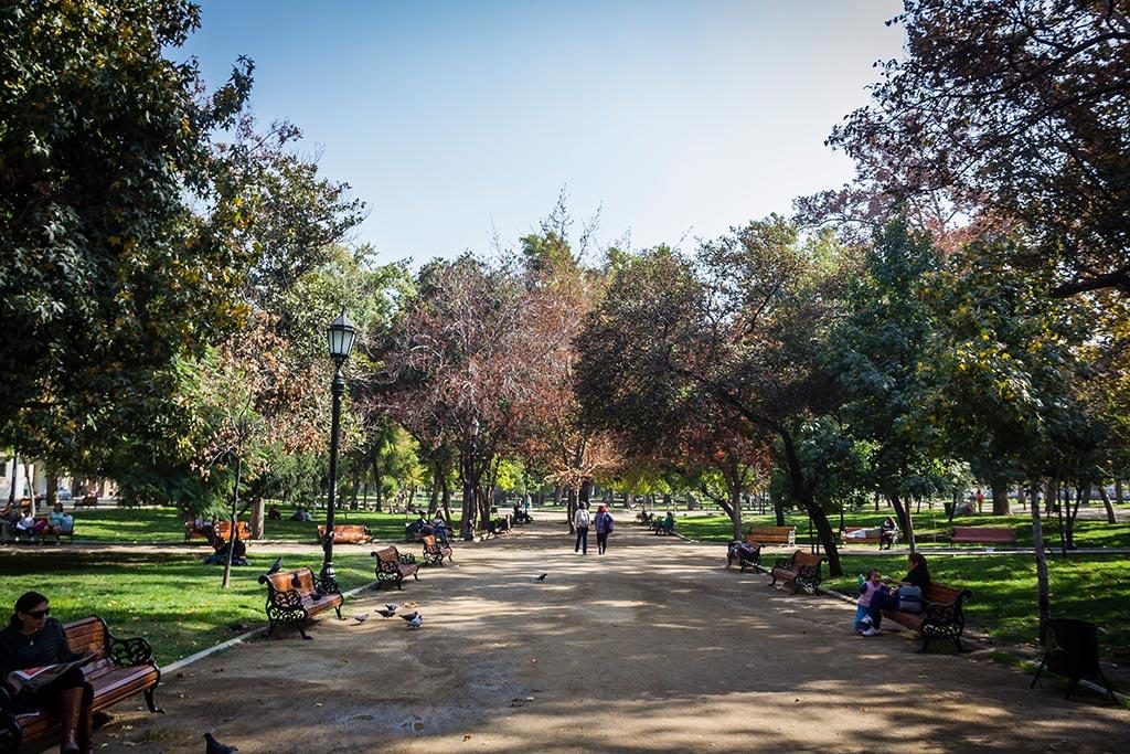 Santiago - Parque florestal