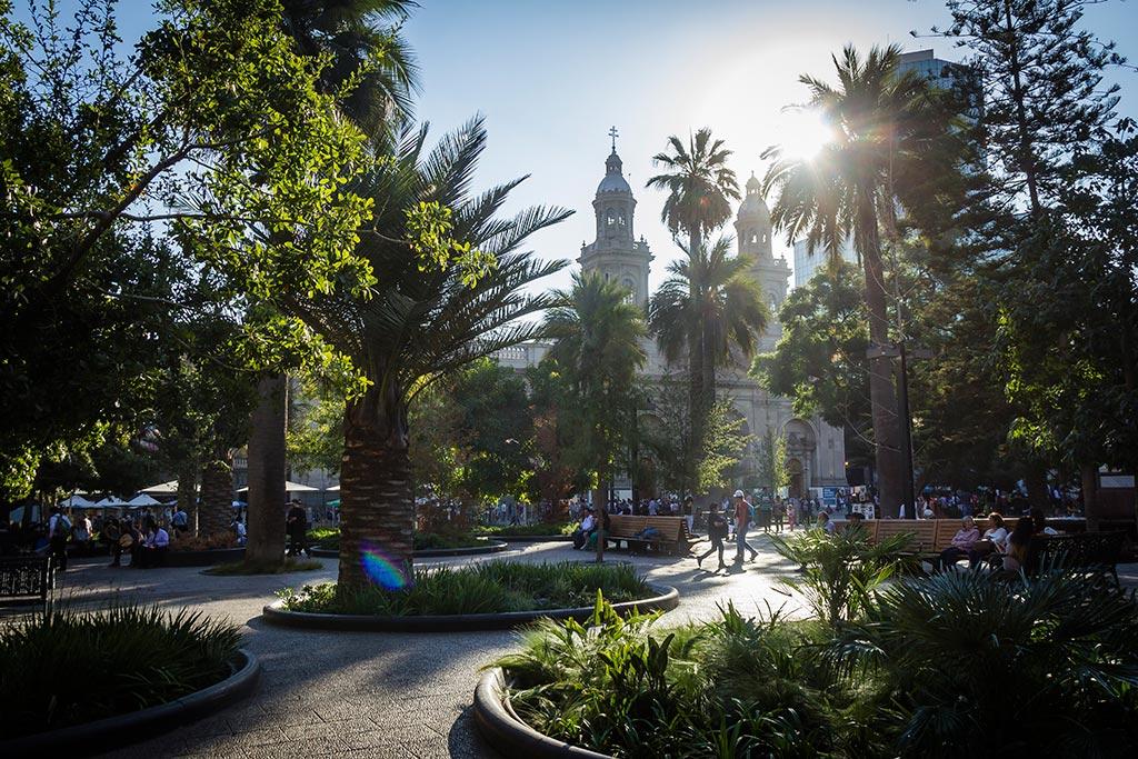 Santiago - Plaza de Armas